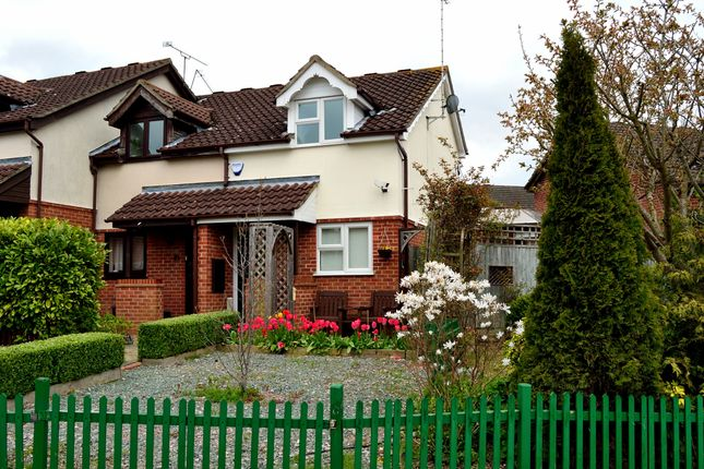 Thumbnail End terrace house to rent in Hilmanton, Lower Earley, Reading