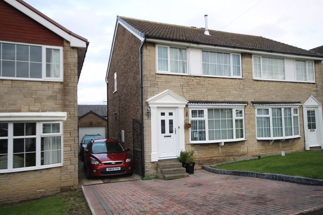 Thumbnail Semi-detached house for sale in Swithens Court, Rothwell, Leeds