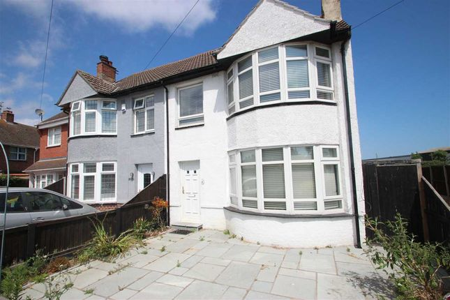 Thumbnail Semi-detached house for sale in Cotswold Road, Clacton-On-Sea