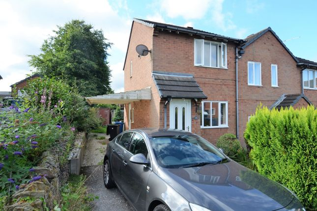 Thumbnail Semi-detached house to rent in Wayside Court, Brimington, Chesterfield, Derbyshire