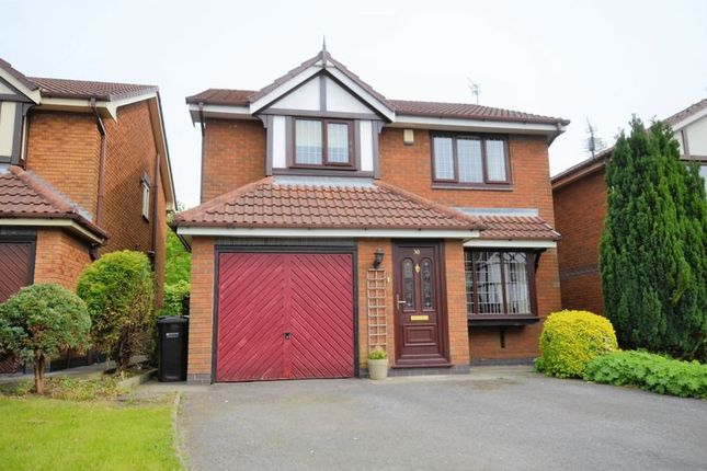 Thumbnail Detached house for sale in 30 Tytherington Drive, Manchester