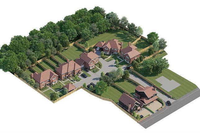 Thumbnail End terrace house for sale in Back Lane, Bucks Horn Oak, Farnham, Surrey