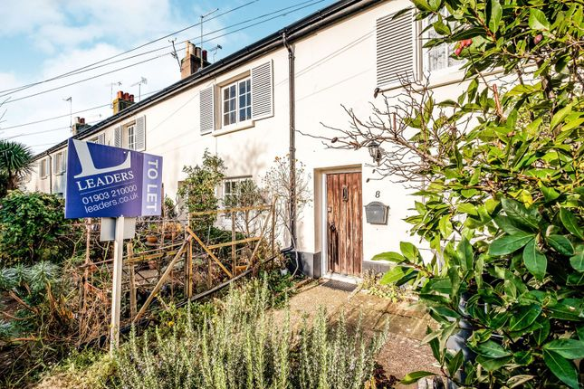 2 bed terraced house to rent in Jeffries Lane, Goring-By-Sea, Worthing BN12