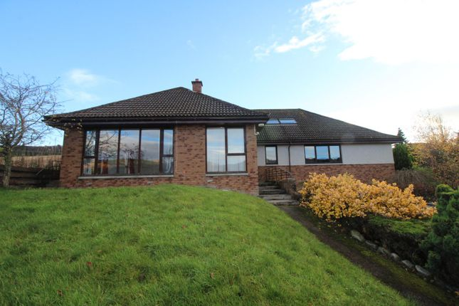 Thumbnail Detached bungalow for sale in Ardival, Strathpeffer