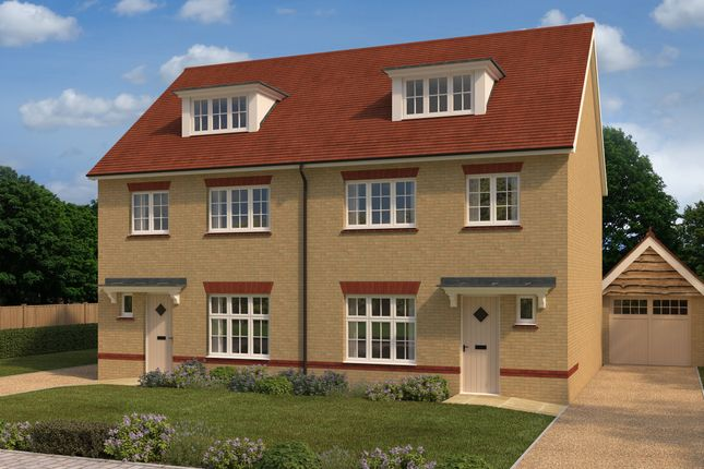 Thumbnail Semi-detached house for sale in Rayne Gardens, Rayne Road, Braintree