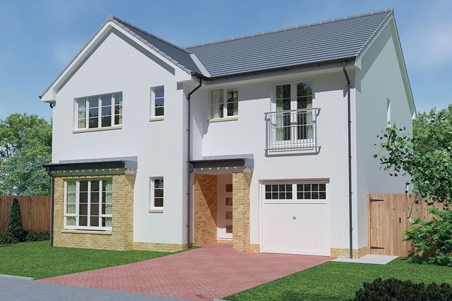 Thumbnail Detached house for sale in Montrose Gardens, Torrance, East Dunbartonshire