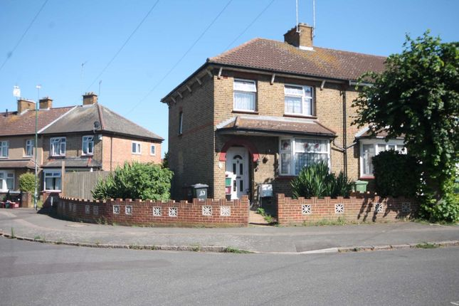 Thumbnail End terrace house for sale in Lydia Road, Erith