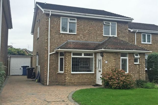 Thumbnail Detached house for sale in Aspin Way, Blackwater, Camberley, Hampshire