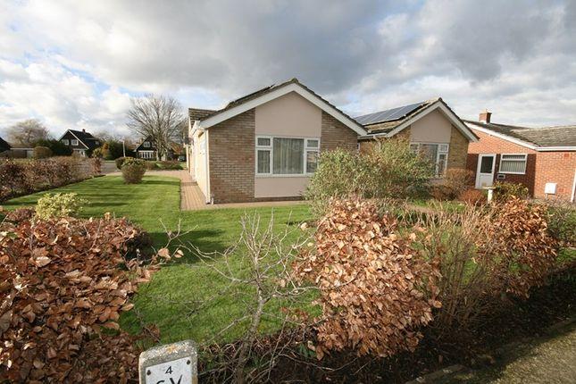 Thumbnail Detached bungalow for sale in Cedar Drive, Attleborough