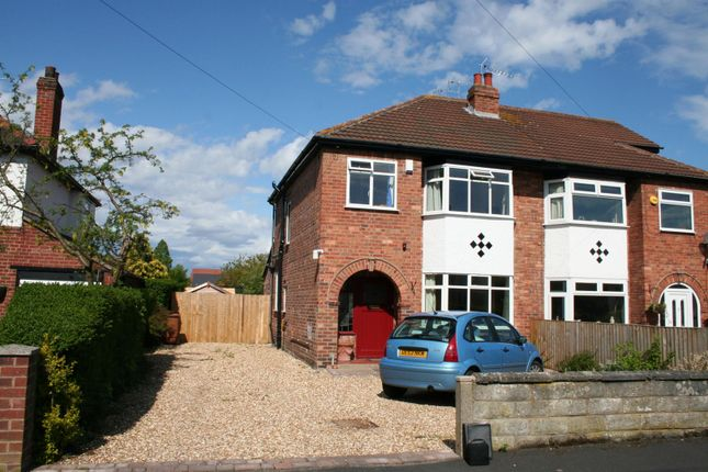 3 bed semi-detached house to rent in Brooke Avenue, Upton, Chester