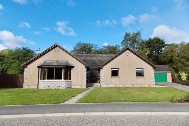 Thumbnail Detached bungalow for sale in David Mclean Drive, Alford