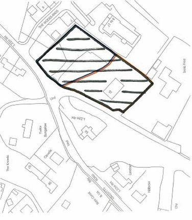 Thumbnail Land for sale in The Calcutts, Church Road, Jackfield, Telford