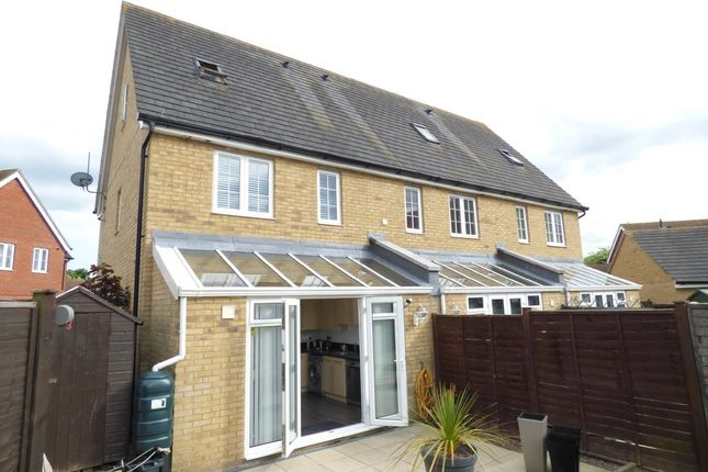Thumbnail Town house to rent in Radvald Chase, Stanway, Colchester