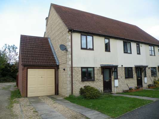Thumbnail End terrace house to rent in Stephens Way, Deeping St James