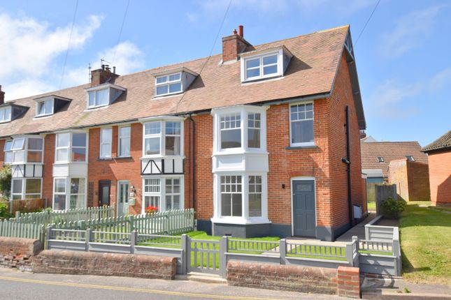 Thumbnail End terrace house for sale in Cromer Road, Mundesley, Norwich