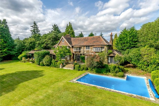 Thumbnail Detached house for sale in Whitwell Down, Tennysons Lane, Haslemere, Surrey