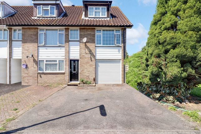 Thumbnail End terrace house for sale in Monks Way, Staines