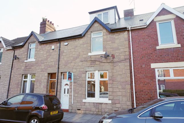 Thumbnail Terraced house to rent in Clavering Street, Wallsend