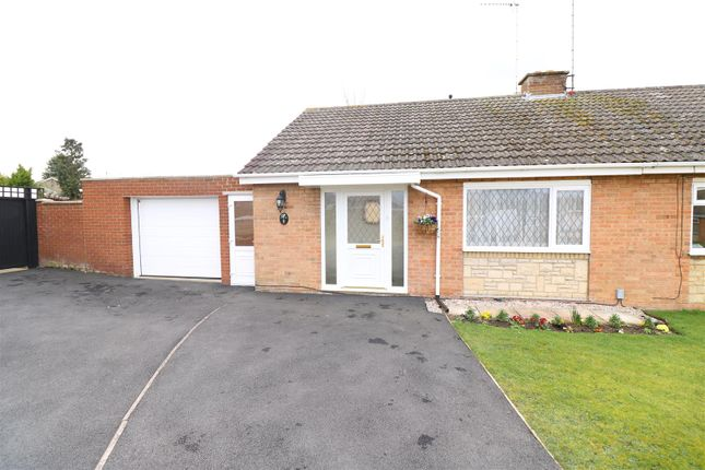 Thumbnail Semi-detached bungalow for sale in Rockingham Court, Rushden