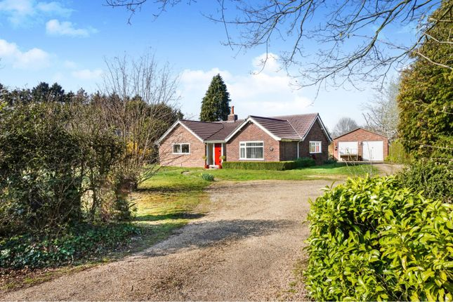 Thumbnail Detached bungalow for sale in Capel Road, Bentley, Ipswich