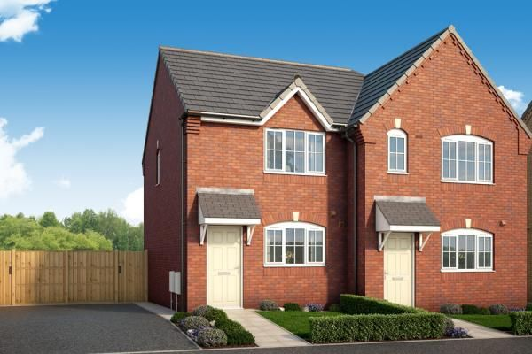 Thumbnail Semi-detached house for sale in The Elm At Porthouse Rise, Bromyard, Hereford