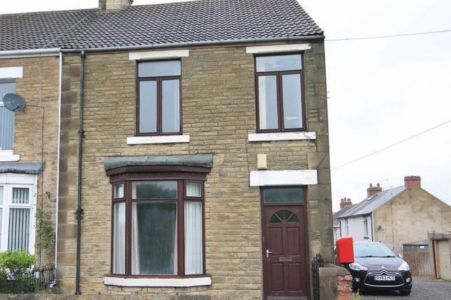 Thumbnail End terrace house for sale in Church Street, Coundon, Bishop Auckland, Co Durham