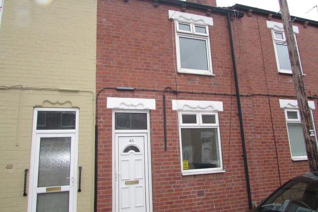 Thumbnail Terraced house to rent in Grafton Street, Glasshoughton, Castleford