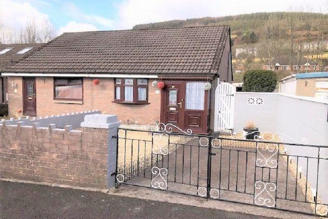 Thumbnail Semi-detached bungalow for sale in Hearts Of Oak Cottages, Caerau, Maesteg, Bridgend.
