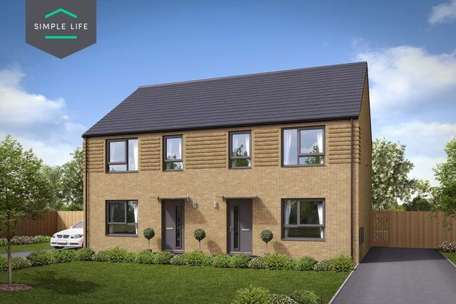 Thumbnail Semi-detached house to rent in Plot 103 Maple, Queen Mary Road, Sheffield