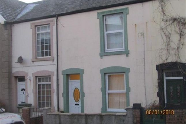 Thumbnail Terraced house to rent in Moorclose Road, Harrington, Workington, Cumbria