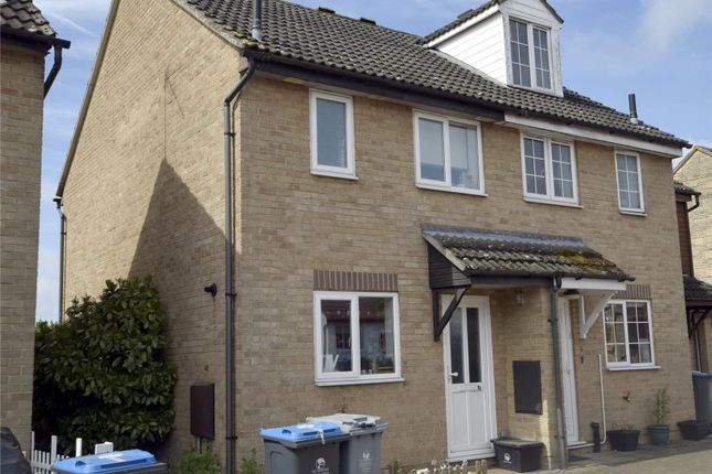 Thumbnail Semi-detached house to rent in Thorney Leys, Witney, Oxon