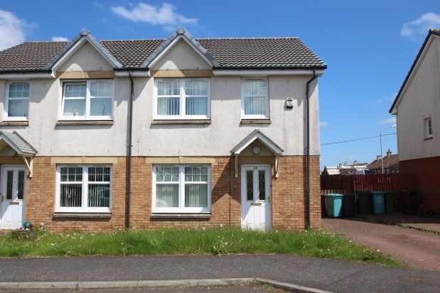 Thumbnail Semi-detached house to rent in Kateswell Drive, Salsburgh, Shotts