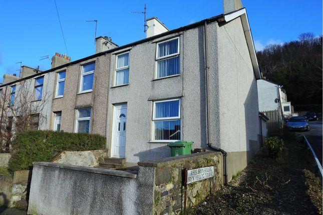 Thumbnail Terraced house for sale in Caernarfon Road, Bangor