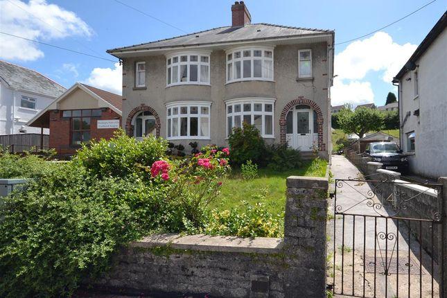 Thumbnail Semi-detached house for sale in Coalbrook Road, Pontyberem, Llanelli