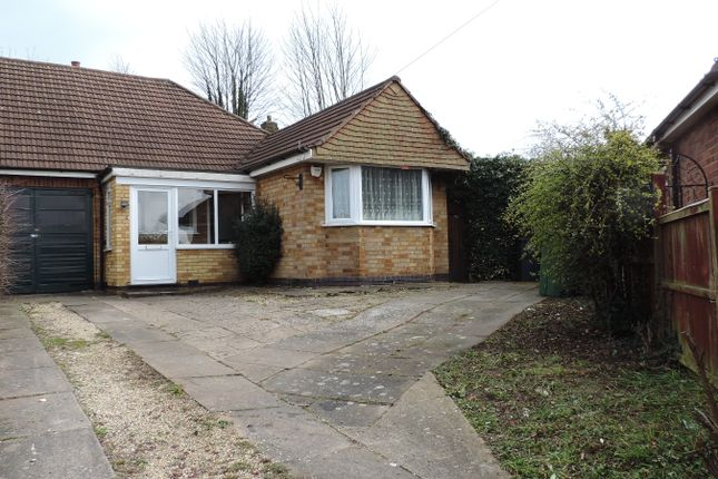 Thumbnail Bungalow for sale in Campbell Avenue, Thurmaston, Thurmaston