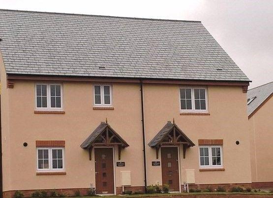 Thumbnail Semi-detached house for sale in Plot 1, Seaward Park, Clyst St George, Devon