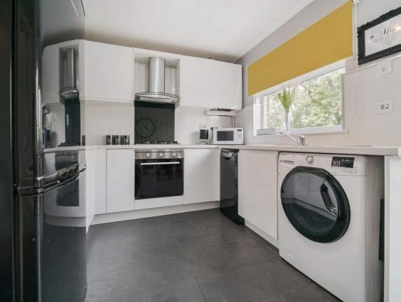 Kitchen of Harris Crescent, Old Kilpatrick, Glasgow, West Dunbartonshire G60