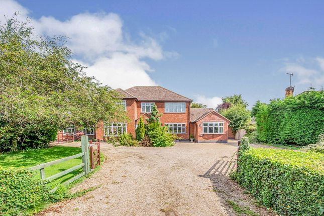 Thumbnail Detached house for sale in Aston Flamville Road, Aston Flamville, Burbage