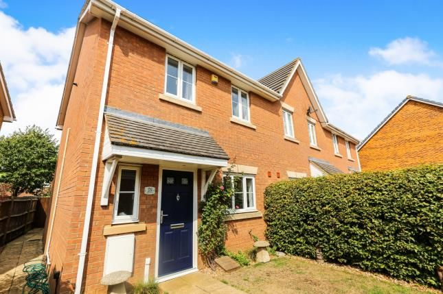 Thumbnail Semi-detached house for sale in Signal Close, Henlow, Bedfordshire, England