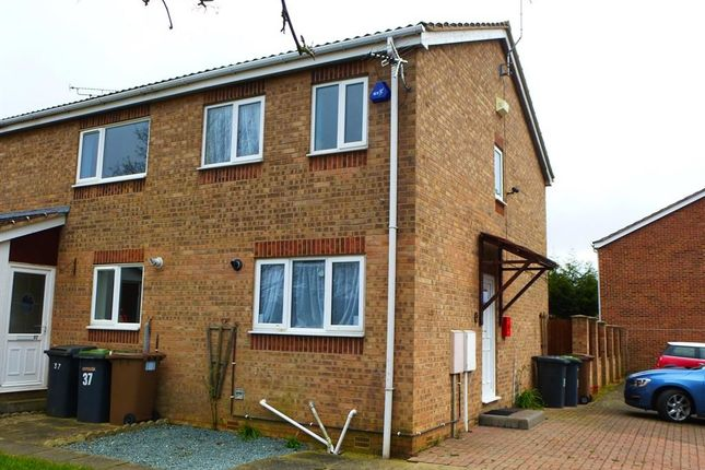 Thumbnail Semi-detached house to rent in The Innings, Sleaford