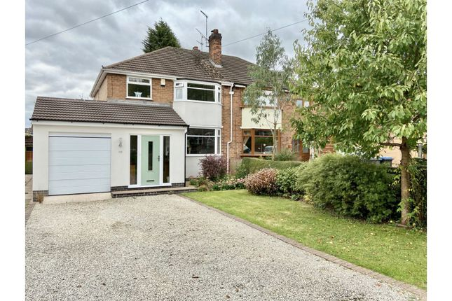 Thumbnail Semi-detached house for sale in Leicester Road, Groby