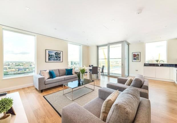 Thumbnail Flat for sale in Waterview Drive, Greenwich Peninsula