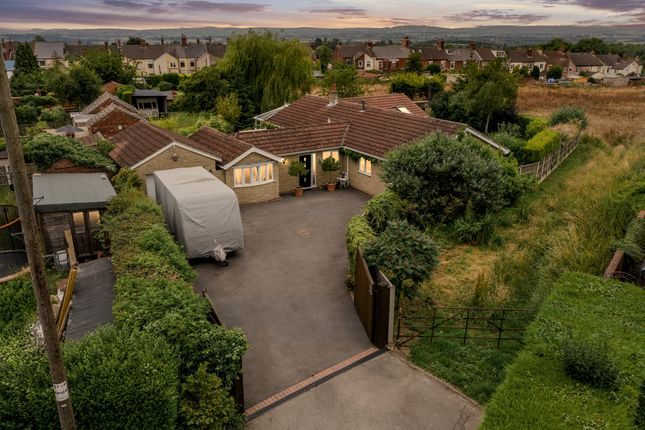 Thumbnail Detached bungalow for sale in Littlemoor Lane, Newton, Alfreton