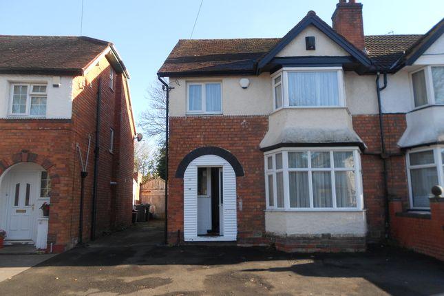 Thumbnail Semi-detached house for sale in Tetley Road, Birmingham