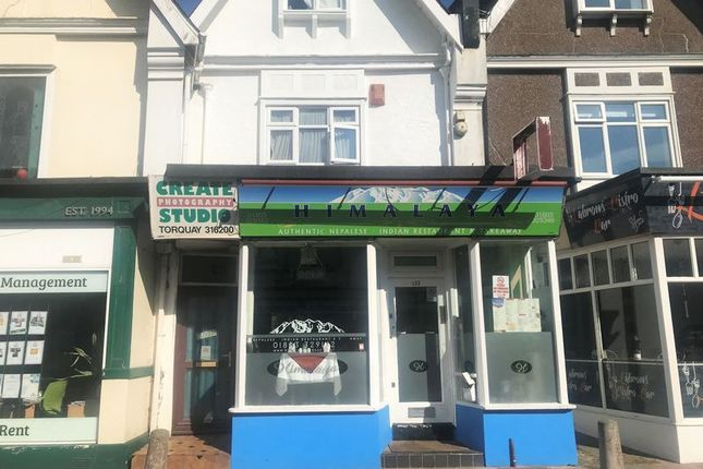 Thumbnail Commercial property for sale in Reddenhill Road, Torquay