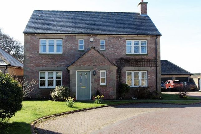 Thumbnail Detached house for sale in Dairy Court, Acklington, Morpeth