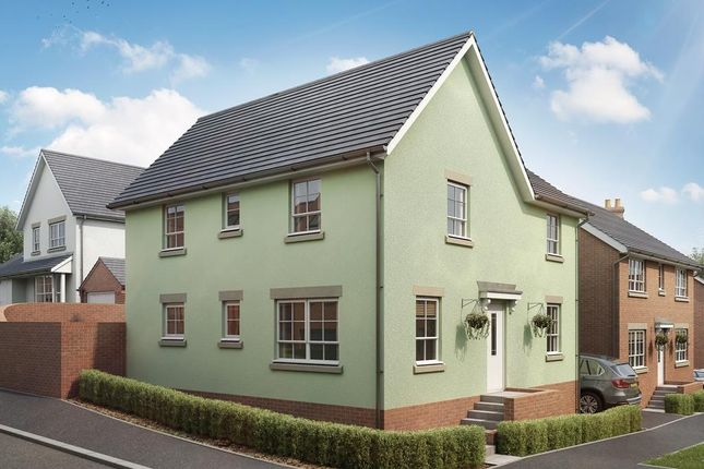 "Thumbnail Detached house for sale in ""Alderney"" at Bevans Lane, Pontrhydyrun, Cwmbran"