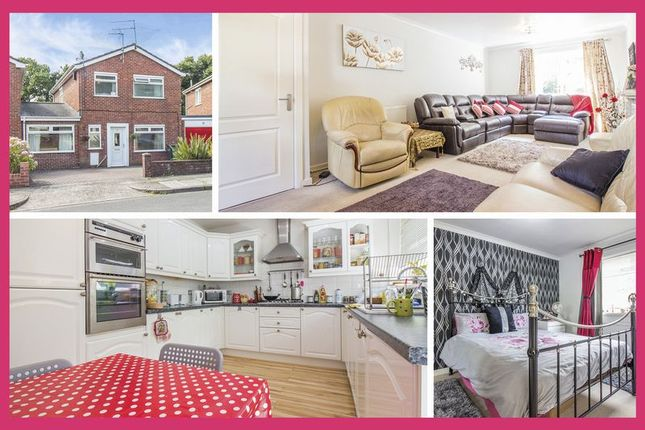 Thumbnail Link-detached house for sale in Melrose Close, St. Mellons, Cardiff