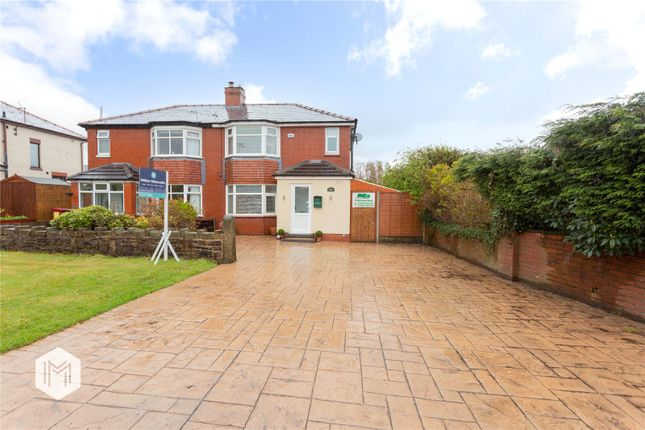 Thumbnail Semi-detached house for sale in New Chapel Lane, Horwich, Bolton, Greater Manchester