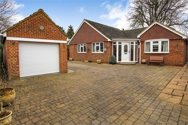 Thumbnail Detached bungalow for sale in Staines Road, Staines-Upon-Thames